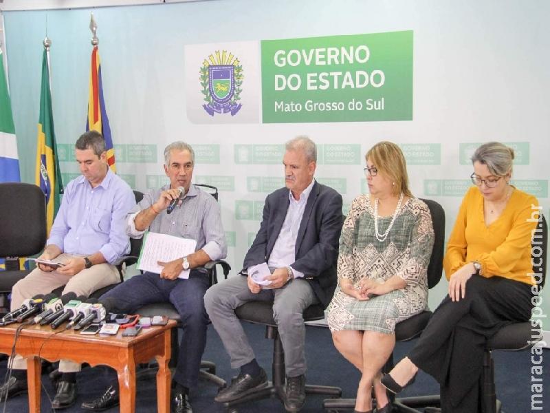 Governo do Mato Grosso do Sul suspende aulas a partir do dia 23