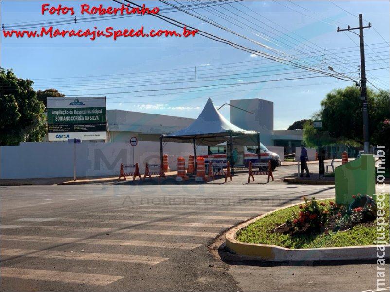 Maracaju: Diretor Presidente do Hospital Soriano Correa, Dr. Jairo Antoria grava vídeo relatando caso de paciente com suspeita de Coronavírus e afirma que fechamento ao acesso ao hospital é medida de segurança