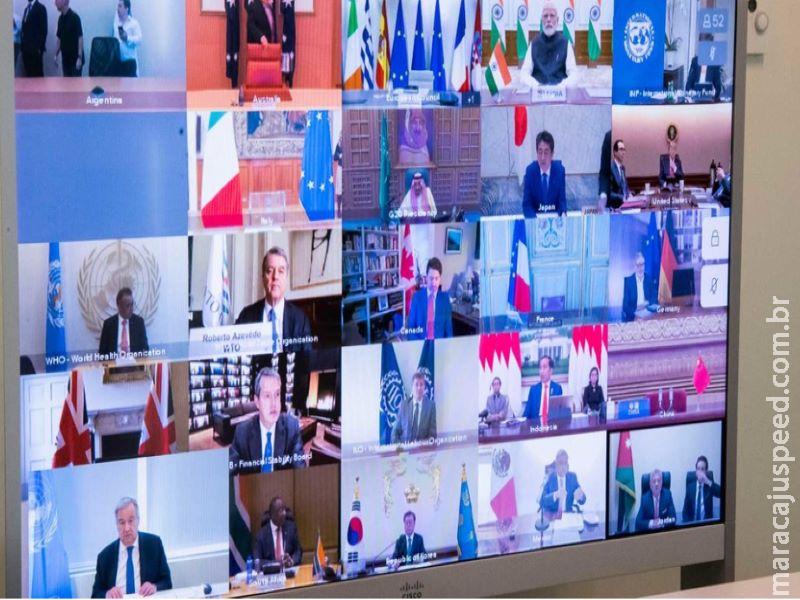 Uma economia global sustentável precisa surgir após pandemia, diz chefe da ONU ao G20
