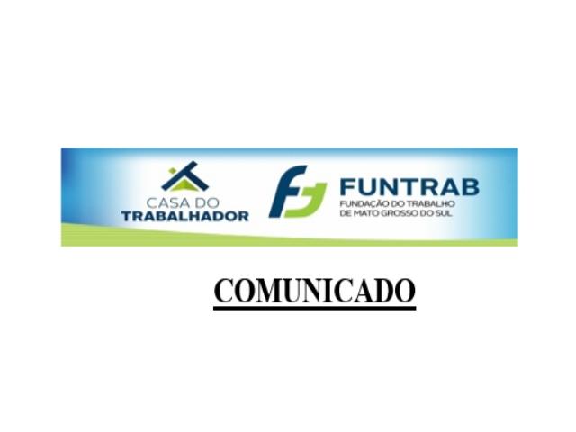 Maracaju: Comunicado Casa do Trabalhador