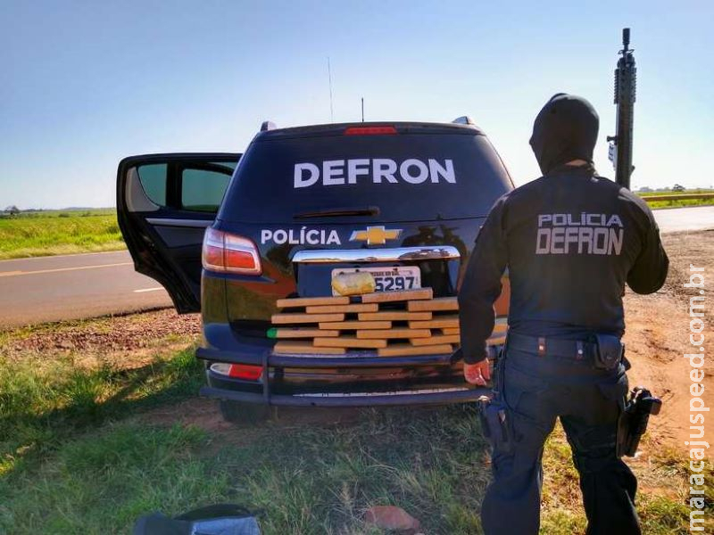 Morador de Goiânia é detido transportando drogas em ônibus no MS