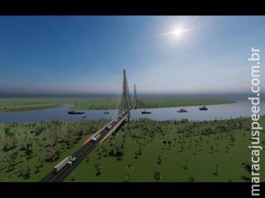 DNIT abre licitação para projeto de acesso à ponte Internacional sobre o Rio Paraguai