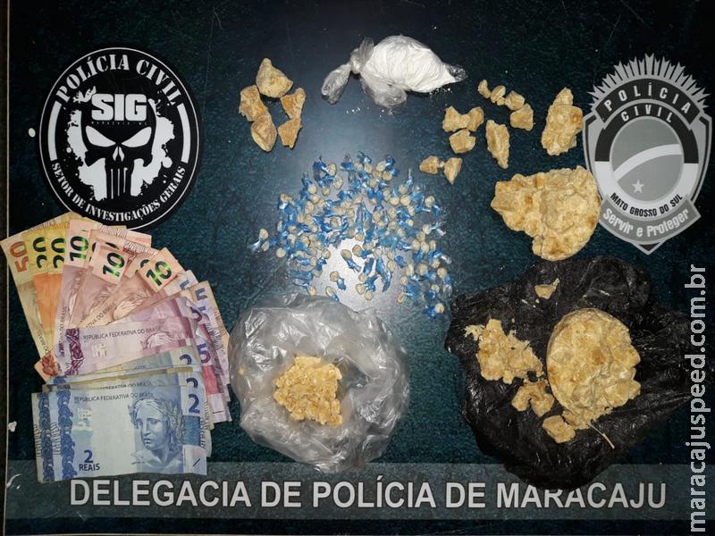 Maracaju: Polícia Civil cumpre mandados de busca e apreensão e fecha mais um ponto de venda de drogas na Vila Juquita