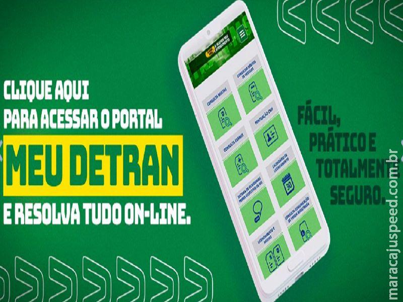 Detran lança novo portal de serviços digitais em Mato Grosso do Sul