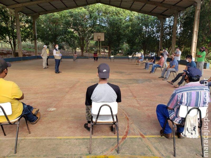 Indígenas recebem treinamento para identificar casos de Covid-19