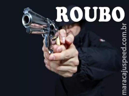 """Maracaju: Homem armado com pistola ameaçou funcionário de comércio, e ordenou """"abre o portão"""""""
