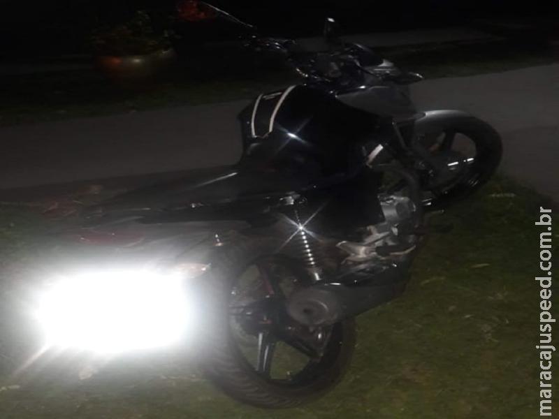 Maracaju: Polícia Militar detêm jovem condutor que realizava manobras perigosas durante madrugada de domingo em Avenida