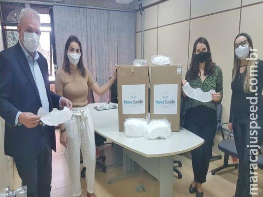 Empresa doa cinco mil máscara para para população indígena, carcerária e idosos