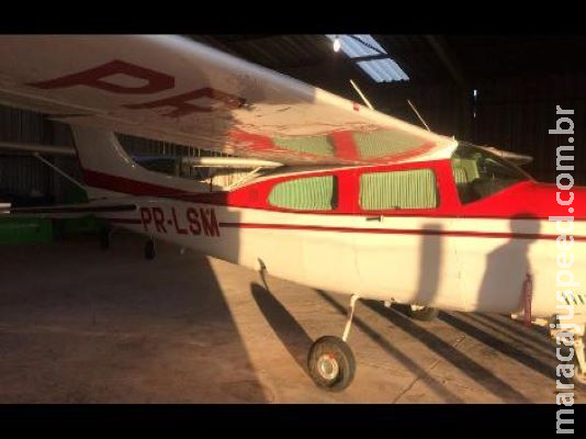 Frota de aviões e imóveis são alvos de ação contra o tráfico