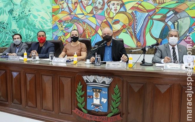 Ponta Porã: Vereadores apresentaram mais de uma dezena de indicações na sessão de 11 de agosto