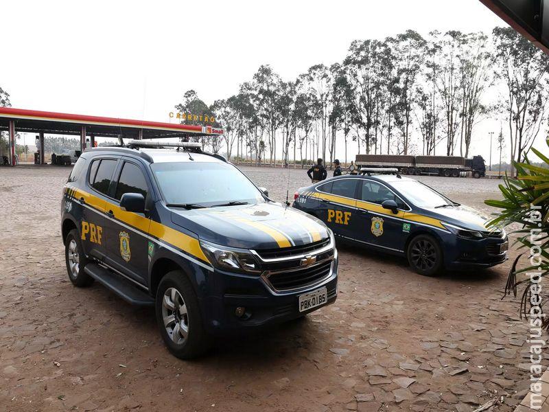 Bandidos caçados em operação roubaram R$ 30 mil, armas e celulares de empresa
