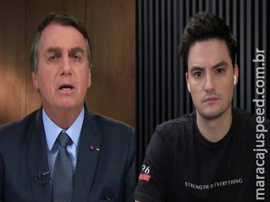 Bolsonaro e Felipe Neto estão entre os 100 mais influentes do mundo, segundo revista