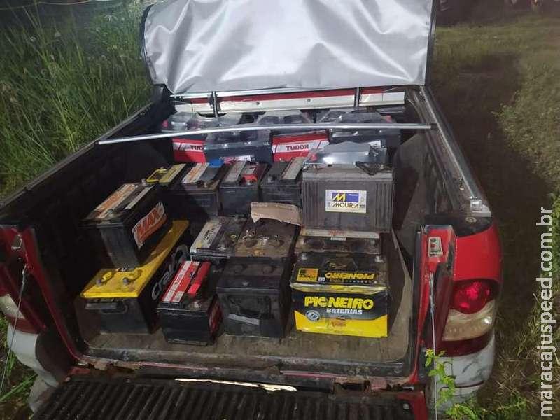 Empresa é multada por transporte ilegal de sucatas de baterias