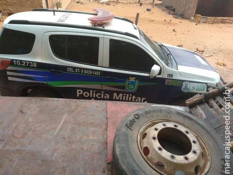 Homens são presos por furto de pneus em cidade da região Norte de MS