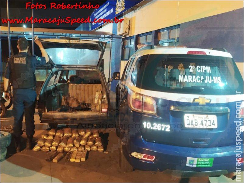 """Maracaju: Polícia Militar apreende maconha e super maconha (Skank). Droga estava em """"MOCÓ"""" (fundo falso de veículo)"""