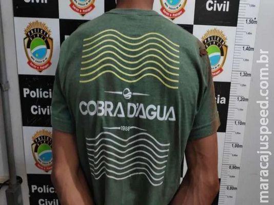 'Simpatizante do PCC` é preso com quase um quilo de cocaína em Dourados
