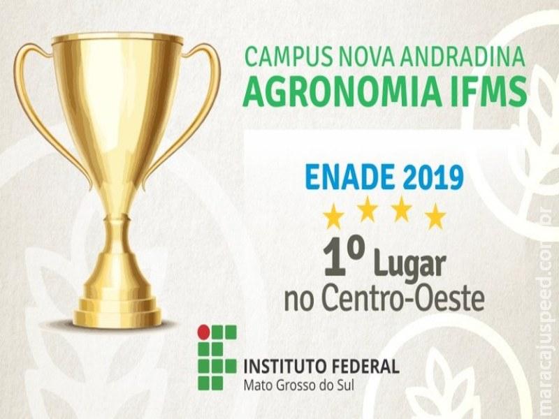 Agronomia do IFMS fica em 1º lugar no Centro-Oeste