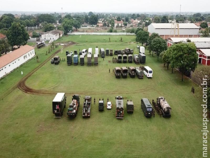 """Maracaju se torna base do exército para realização de """"Operação Bodoquena"""""""