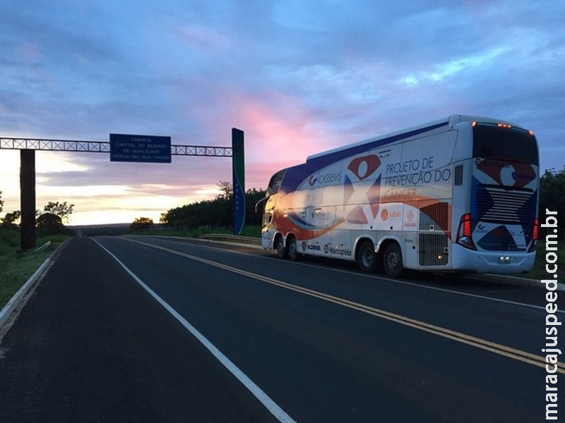 Ônibus da CASSEMS realiza atendimento em Maracaju na sexta-feira (16)
