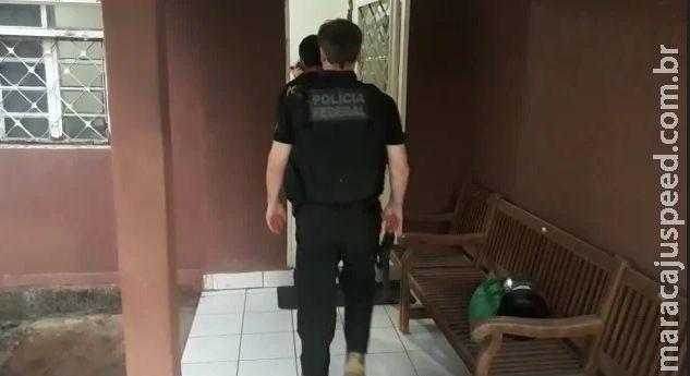 Operação da Polícia Federal apura desvios de mais de R$ 60 milhões da prefeitura de Corumbá