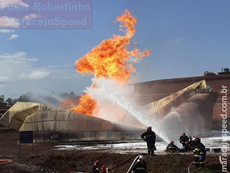 Maracaju: Biosev emite nota sobre incidente de explosão de tanque de etanol