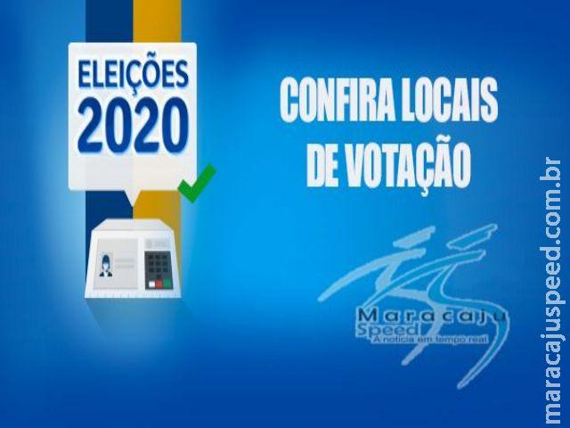 Maracaju: Locais de Votação Eleições 2020