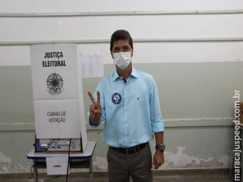 Maracaju: Marcos Calderan e Maurão são eleitos com 11.194 votos válidos para assumir a gestão do executivo municipal
