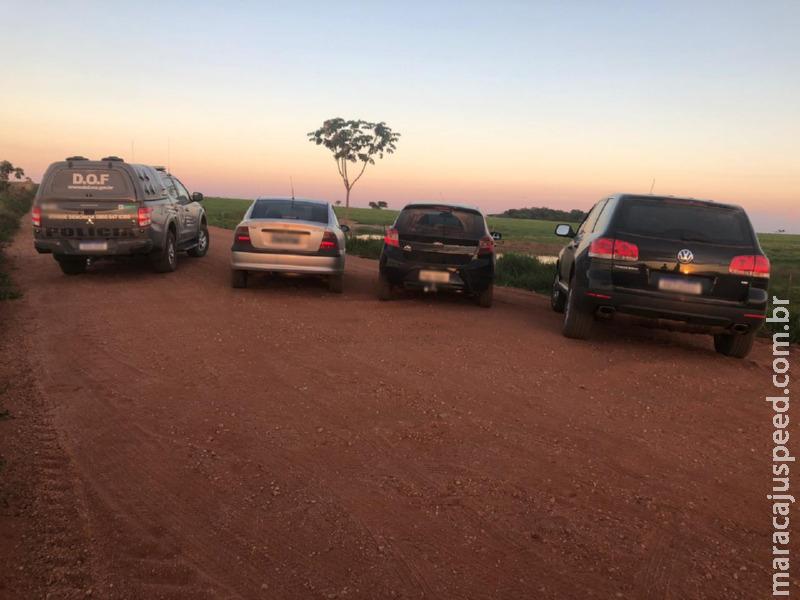 Maracaju: Veículo que seguia para Goiânia com mais de 700 quilos de maconha foi apreendido pelo DOF durante a Operação Hórus