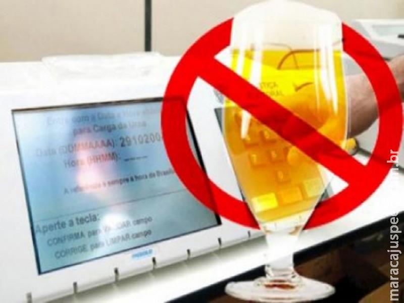 TRE de Mato Grosso Do Sul afirma em portaria a proibição do consumo de bebidas alcoólicas durante o domingo (15)