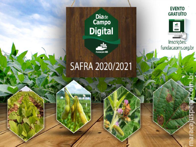 Fundação MS realizará Dia De Campo on-line para apresentar resultados importantes para Safra 2021/2022