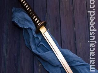 Jovem é preso com espada de samurai no aeroporto de Campo Grande