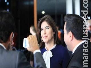 Simone Tebet é a primeira mulher a concorrer à presidência do Senado