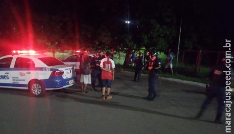 Adolescentes são apreendidos por suspeita de arrastão no Parque do Sóter