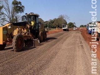 Empreiteira receberá R$ 45,3 milhões por asfalto entre Copo Sujo e Ponta Porã
