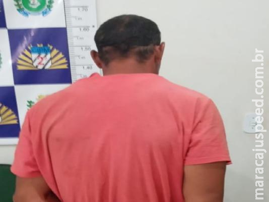 """Maracaju: Polícia Militar cumpre mandado de prisão e autor afirmou aos policiais que assim que saiu da penitenciária arrancou a tornozeleira eletrônica de monitoramento e """"joguei no mato"""""""