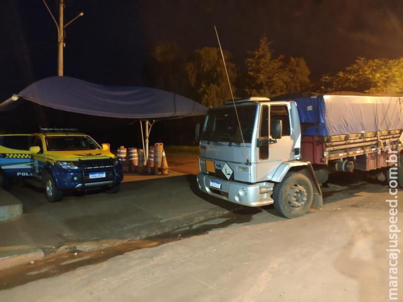 Maracaju: Policiais da PMRv Base de Vista Alegre evitam acidente de trânsito e acidente ecológico