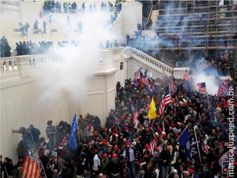 Polícia divulga possível complô de grupo de milícia para atacar o Capitólio dos EUA