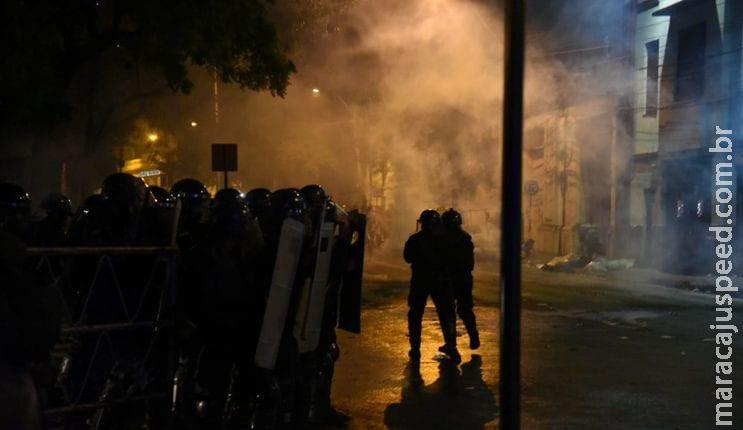 Protestos contra presidente do Paraguai deixam um morto e 18 pessoas feridas