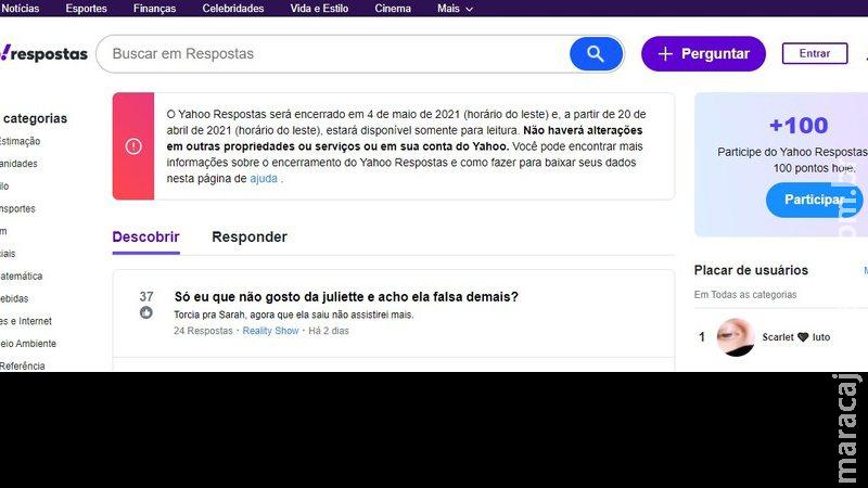 Após se tornar 'poço' de mentiras, Yahoo Respostas será desativo