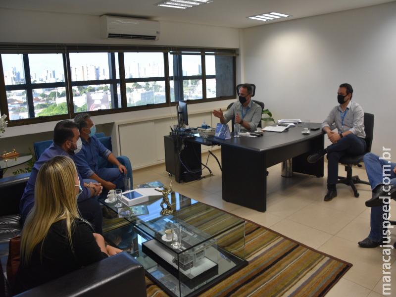 Câmara dos Vereadores de Maracaju solicita ao SENAI cursos de qualificação profissional para região