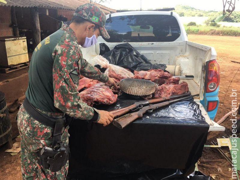 Dois catarinenses são presos e multados em R$ 28,5 mil por caça de cinco animais silvestres em Bonito