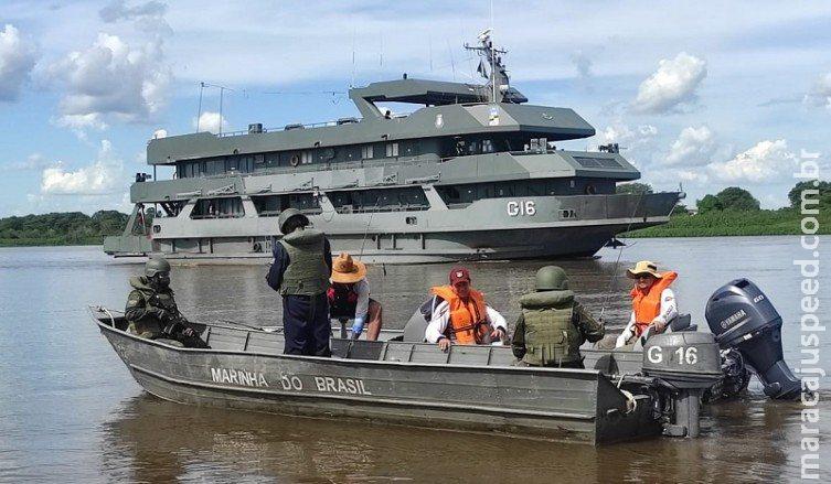 Em operação, apreensões de drogas, armas e contrabando atingem valor de R$ 1,6 milhão