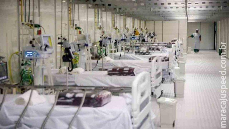 MS tem 127 pacientes com covid na fila de espera por vagas em hospitais nesta segunda-feira
