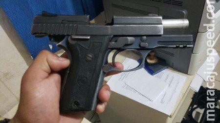 'Comprei no camelô': homem é preso com pistola e munições após ameaçar tio