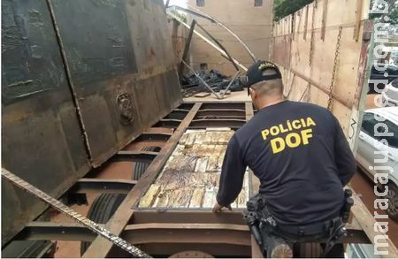 Empresa paraguaia é suspeita de enviar maconha em carga de arroz a granel