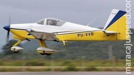 Queda de avião em plantação de milho matou produtor rural gaúcho e tripulante em MS