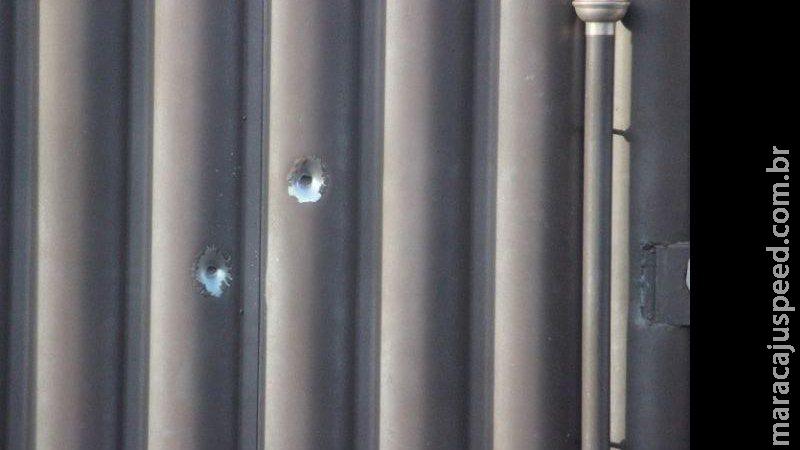 Durante a madrugada, tiros são disparados contra residência em cidade de MS