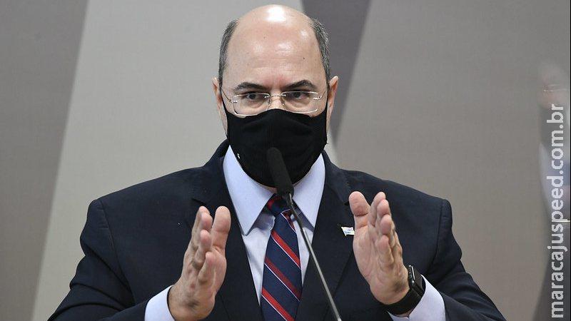Envio de verbas federais não foi suficiente para enfrentar pandemia, diz Witzel