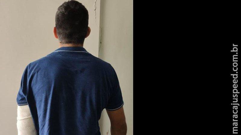 Traficante preso com cocaína e baleado na fronteira tinha falsa identidade