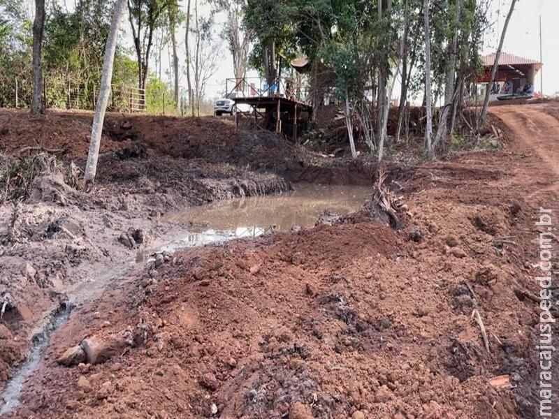 Trio leva multa de R$ 30 mil por degradação de área protegida